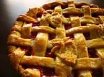 Strawberry Rhubarb Pie 1