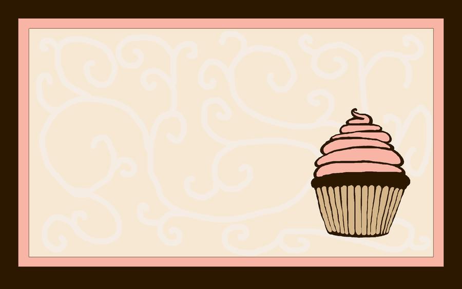 Strawberry cupcake wallpaper by Sanlea on DeviantArt