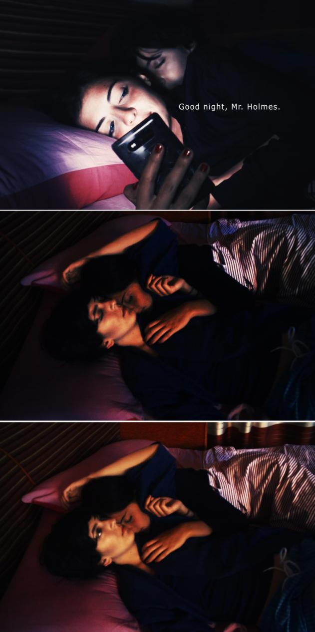 Good night, Mr. Holmes. by MartaNaokoChan
