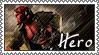 Hero - Hellboy Stamp by Saldemonium