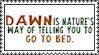 I'm a Nightowl by Saldemonium