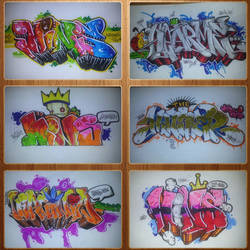 Graffiti Collage 4