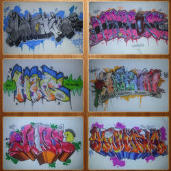 Graffiti Collage 3