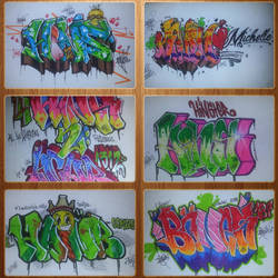 Graffiti Collage 2