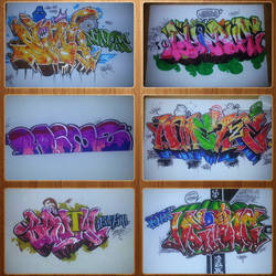 Graffiti Collage 1