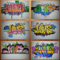 Graffiti Collage 5