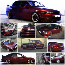 My Car Collage (Opel Vectra B)