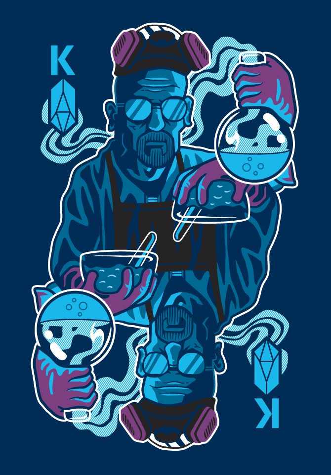 King of Crystals | Breaking Bad by gremz