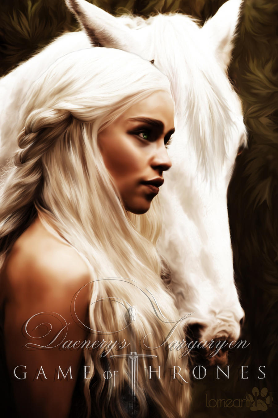 Daenerys Targaryen : Game of Thrones by RottonNymph on ...