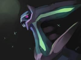 Shiny Dialga by BASbird
