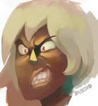Jasper the snarl queen