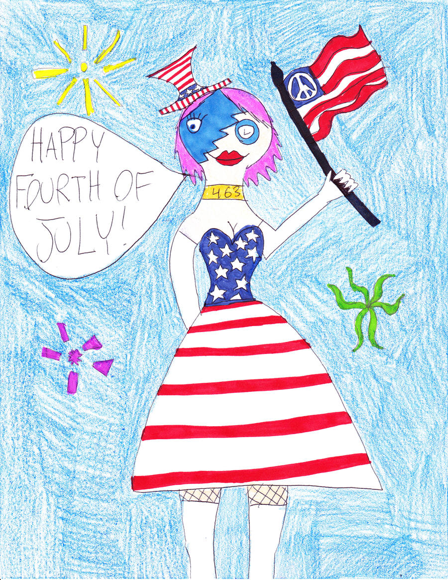 Happy Fourth of July- 2010 by RavynLaRue