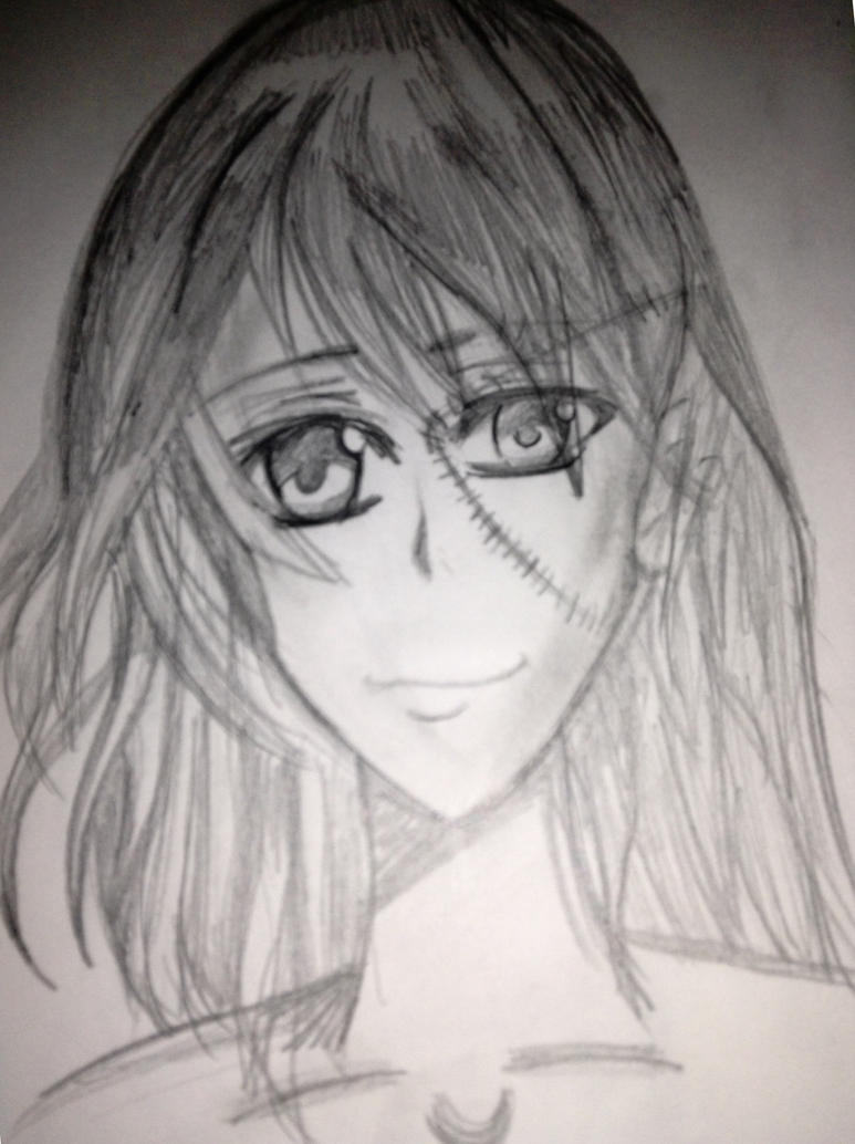 stitched eye anime girlxilovejesus on deviantart