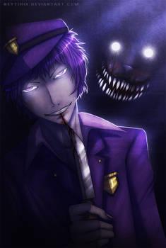 Purple Guy (FNAF Fanart)