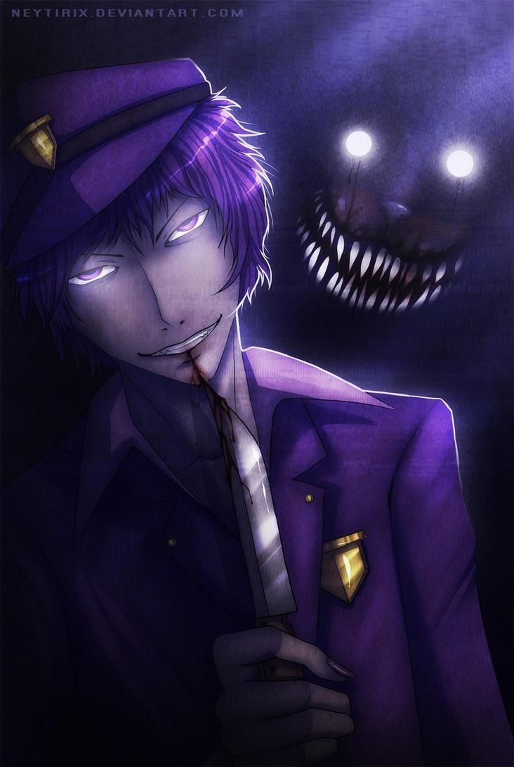 Purple guy fnaf fanart by neytirix on deviantart
