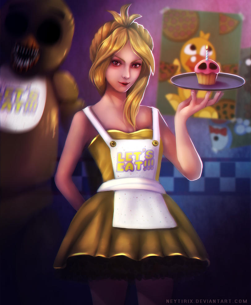 Realistic Chica! (FNAF Fanart) By Neytirix On DeviantArt