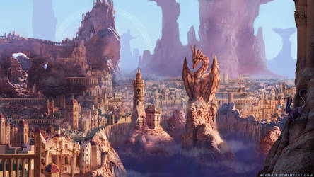The Kingdom in the Canyon by Neytirix