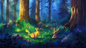 Don't be scared (Pokemon Fanart)