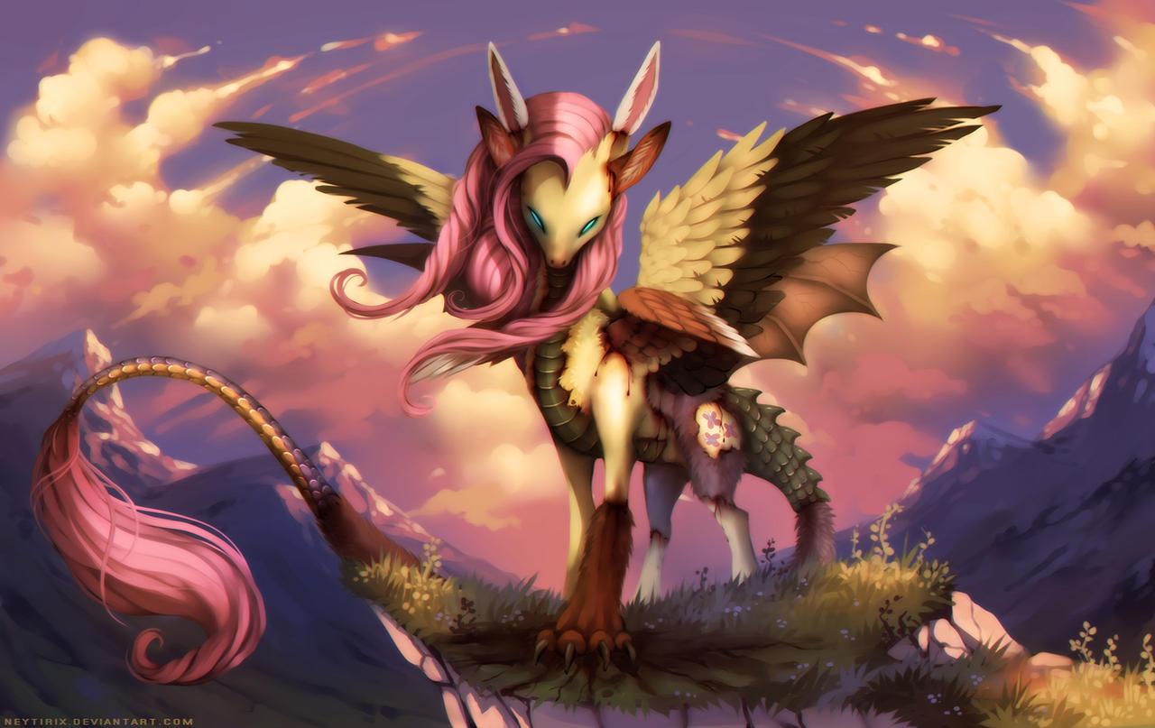 Flutterdie One With Nature Mlp By Neytirix On Deviantart