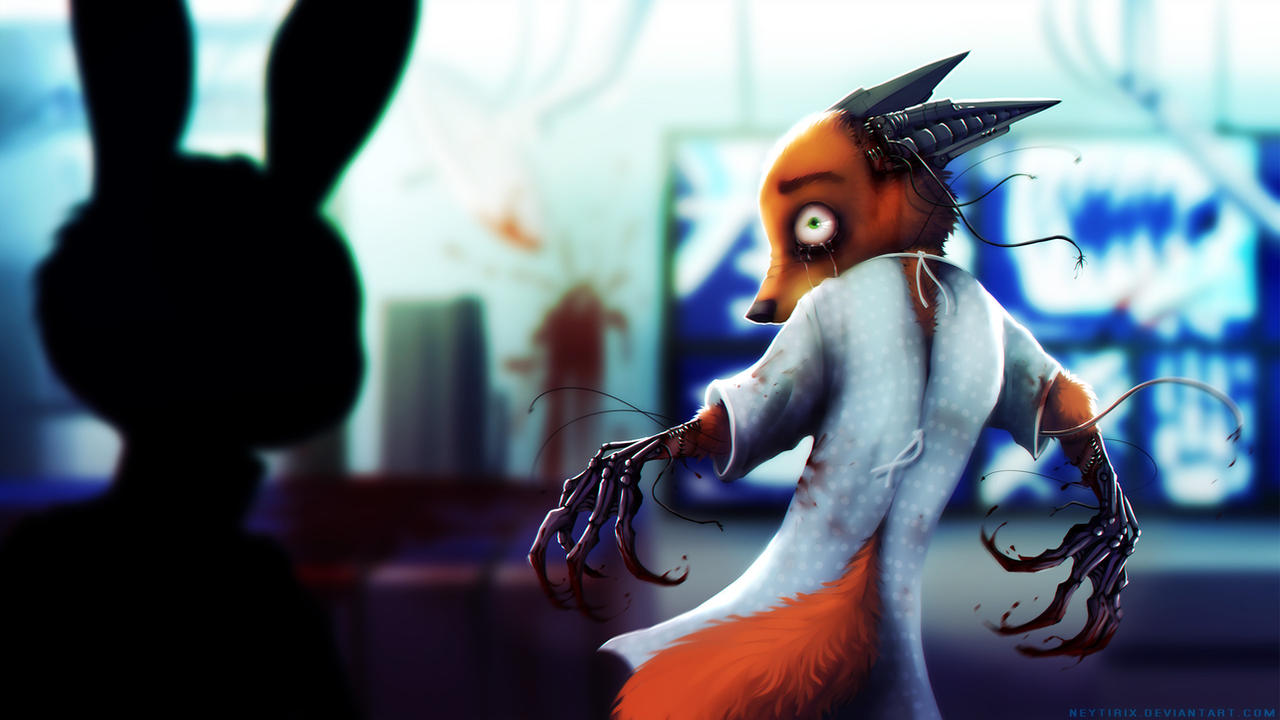 What have they done to you... (Zootopia Story) 1
