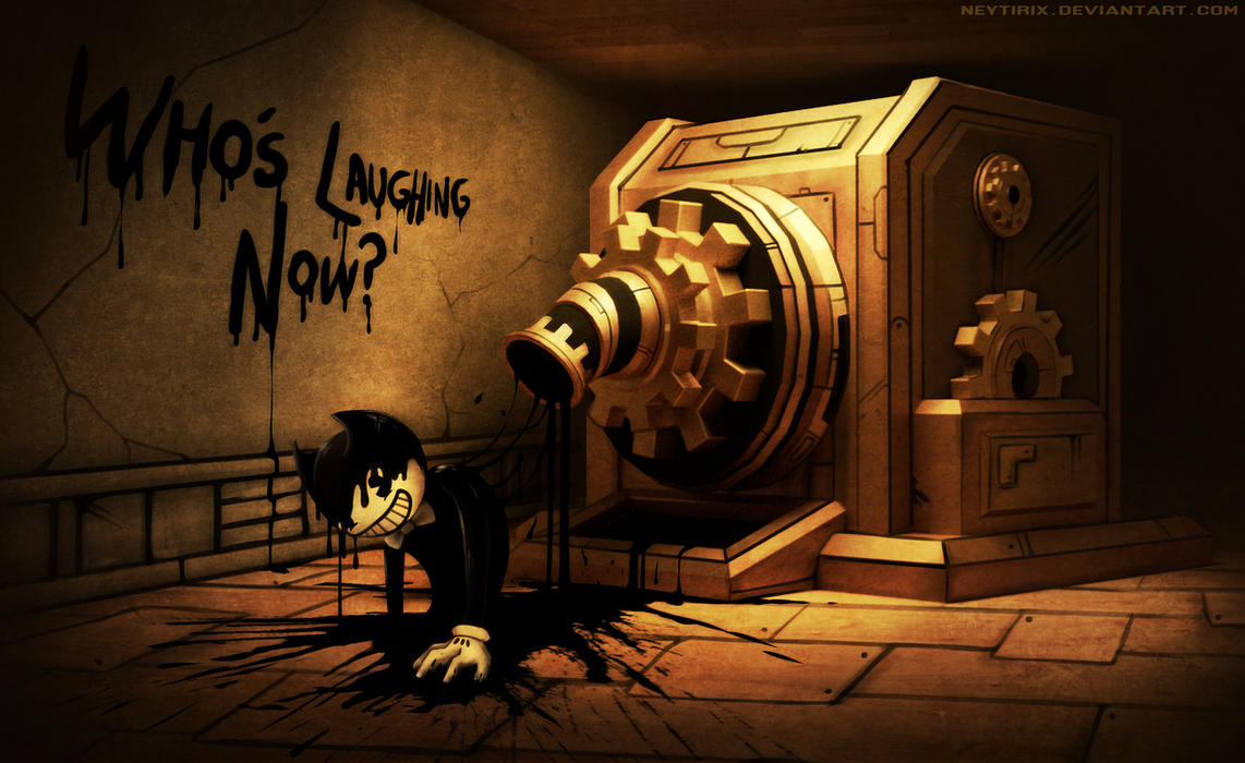 bendy and the ink machine theme