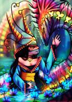 The Lotus Priestess by Neytirix