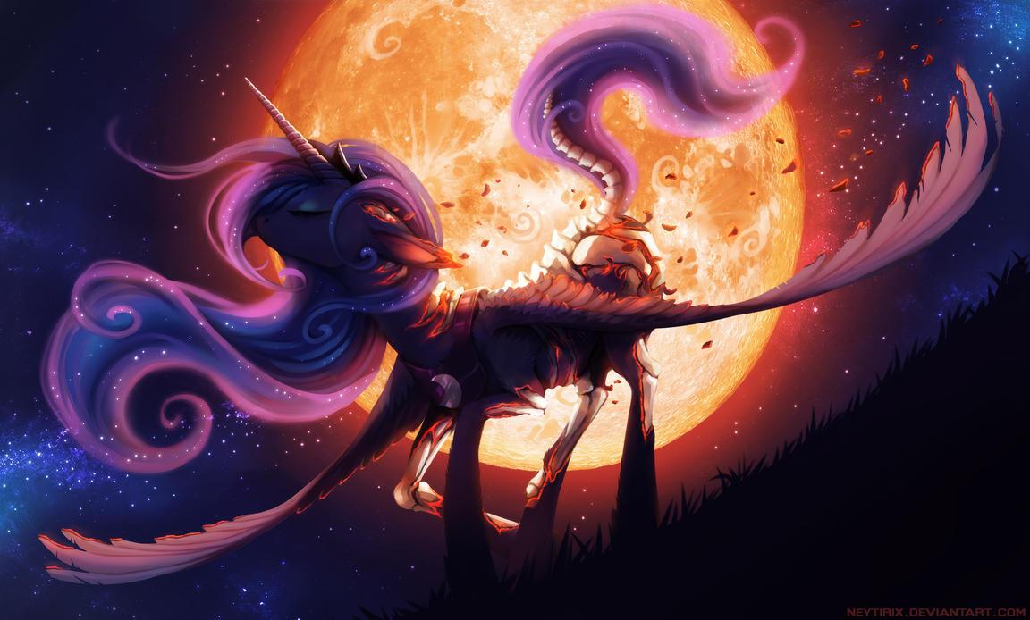 [Obrázek: scorching_moonlight__mlp__by_neytirix-dbnddkw.jpg]
