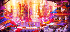 The Market District by Neytirix