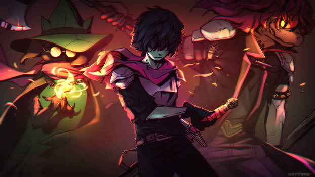 Why Would We Spare You? (DELTARUNE Fanart)