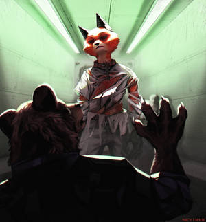 Stay down (Zootopia Story) 19
