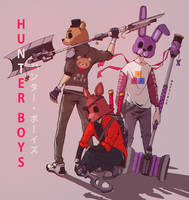 HUNTER BOYS (FNAF) by Neytirix