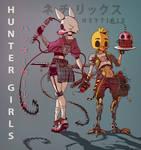 HUNTER GIRLS (FNAF)