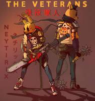 THE VETERANS (FNAF) by Neytirix