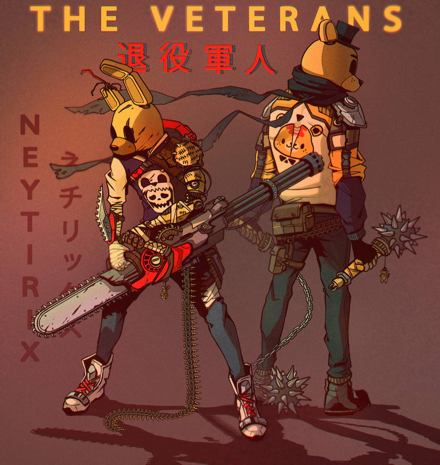 THE VETERANS (FNAF) by Neytirix on DeviantArt
