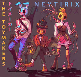 THE TOYMAKERS (FNAF) by Neytirix