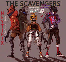 THE SCAVENGERS (FNAF) by Neytirix