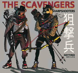 THE SCAVENGER SHARPSHOOTERS (FNAF)