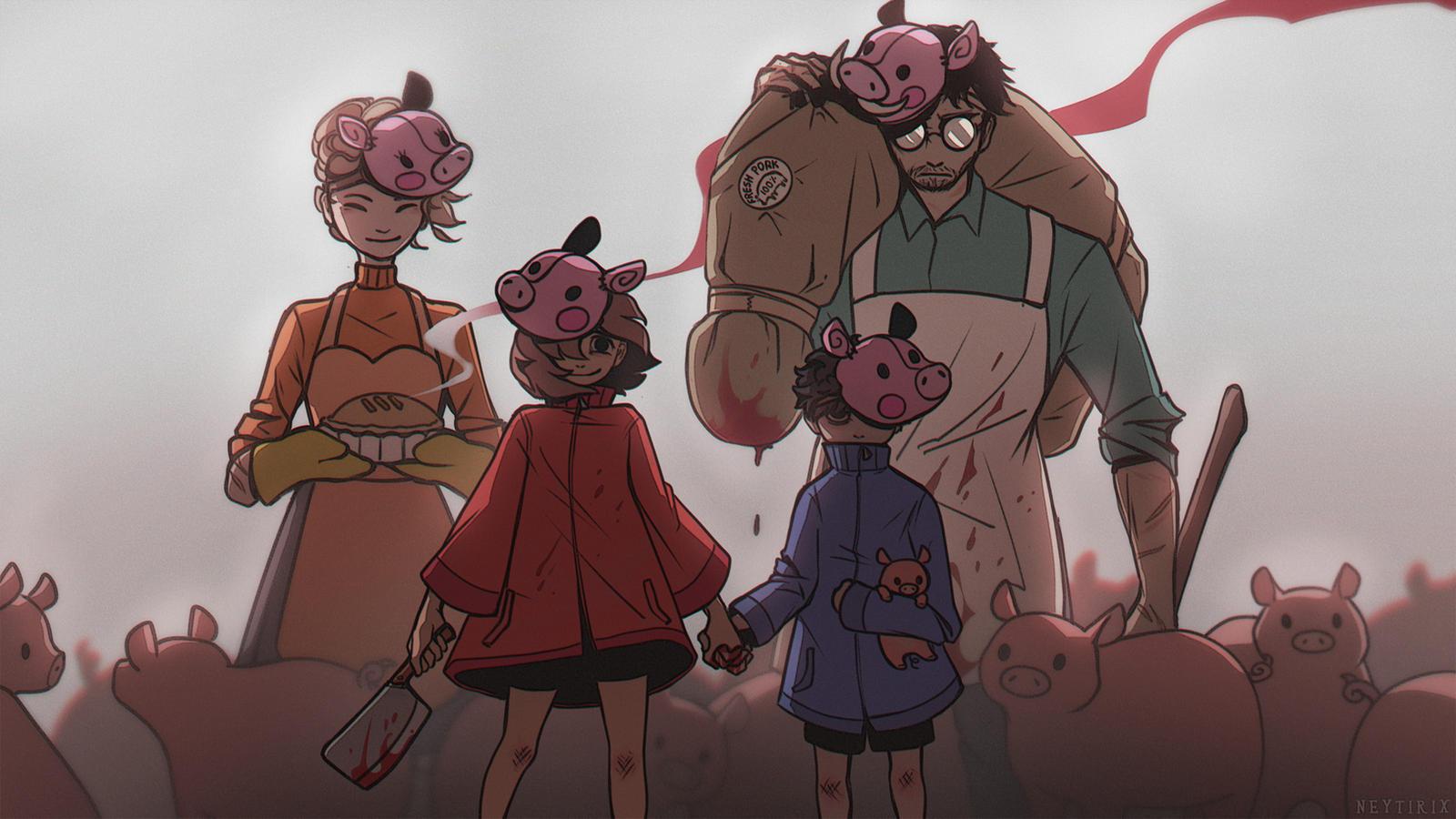 Peppa Pig S Family By Neytirix On Deviantart