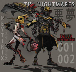 THE NIGHTMARES - Failed Experiments 001 - 002