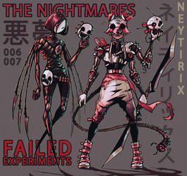 THE NIGHTMARES - Failed Experiments 006 - 007