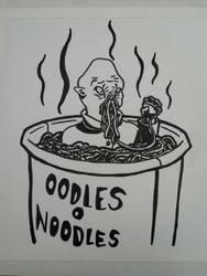 Oodles O Noodles - Doctor Who Ood Fanart