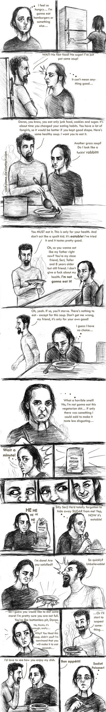 SOAD: Daron vs. Soup by xoAyame