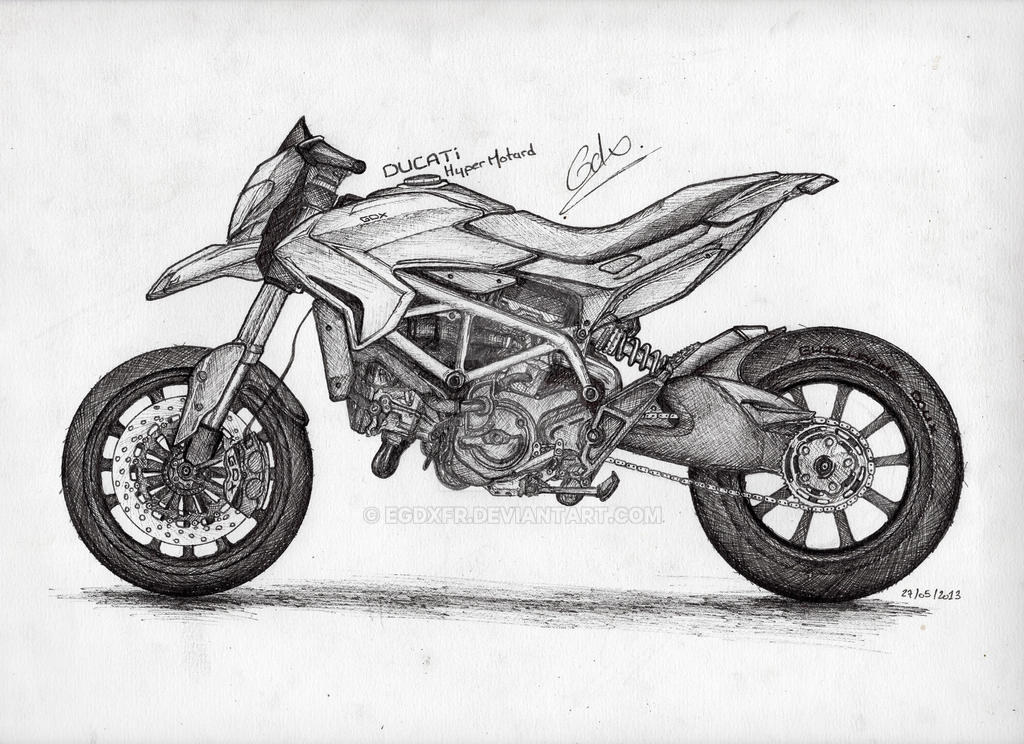 Ducati Hypermotard Gdx By Egdxfr On Deviantart