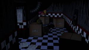 Lazy FNAF Room Test