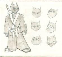 Usagi Yojimbo- necko ninja
