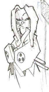 Usagi with ears down