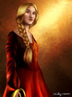 Cersei Lannister by chillyravenart