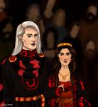 Rhaegar Targaryen and Elia Martell's Wedding 280AC