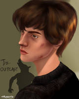 Remus Lupin/Moony by chillyravenart