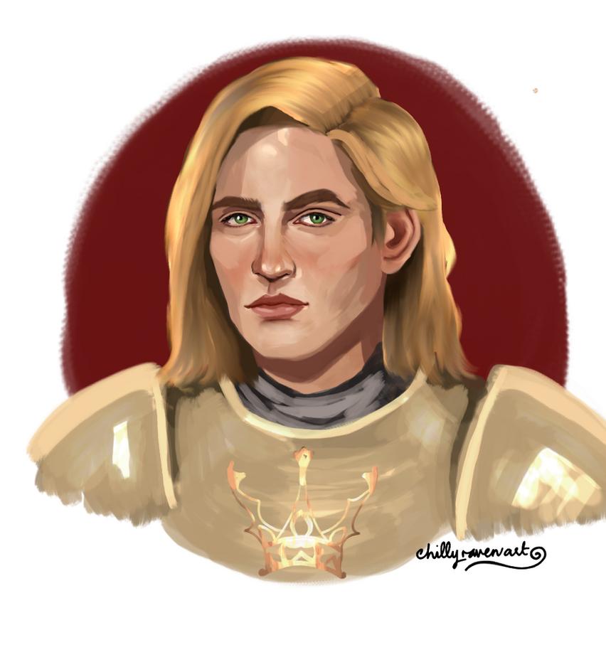 Jaime Lannister by chillyravenart